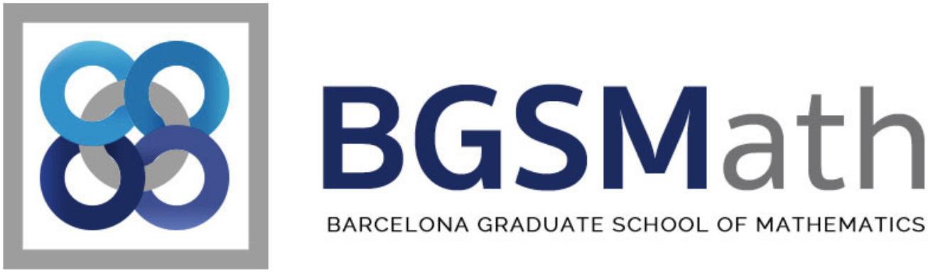 Barcelona Graduate School of Mathematics