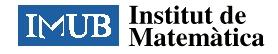 Institut de Matemàtiques de la UB